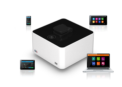 Mobile and easy control of the NanoPhotometer® is possible via Wi-Fi from tablets or smartphones (Android OS & iOS). Easy control from PCs (Windows & Mac) with fast and flexible connection options including Wi-Fi, USB and LAN.